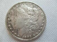 1901 O MORGAN SILVER DOLLAR COIN VF