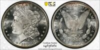 1880/79-S $1 MORGAN SILVER DOLLAR PCGS MINT STATE 64PL TOP 100 VAM9 80/79 LARGE S