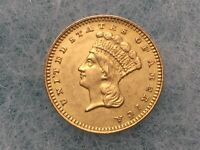 1882 UNITED STATES MINT ONE DOLLAR GOLD COIN $1 LIBERTY TYPE