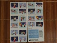 2015 CHARLIE BROWN CHRISTMAS USPS FOREVER STAMPS BOOK OF 20