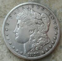 1879-CC  MORGAN SILVER DOLLAR.. STRONG DETAILS