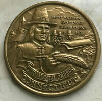 1976 AMERICAN REVOLUTION IN CONNECTICUT BRONZE MEDAL