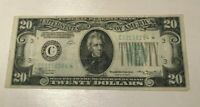 SERIES 1934 $20 FEDERAL RESERVE NOTE   STAR NOTE