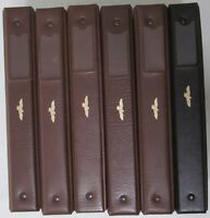 EAGLE ALBUM FOR CERTIFIED COINS 3 PAGES   HOLDS UP TO 27 SLABS; LOT OF 6