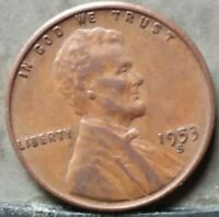 1953 S LINCOLN WHEAT CENT,  FREE & PROMPT SHIPPING