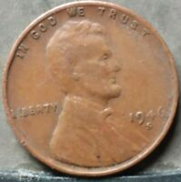 1946 S LINCOLN WHEAT CENT,  FREE & PROMPT SHIPPING
