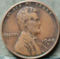 1940 D LINCOLN WHEAT CENT,  FREE & PROMPT SHIPPING