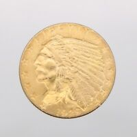 1929 $2.5 GOLD INDIAN HEAD QUARTER EAGLE GOLD COIN   GREAT D