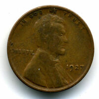1927 P WHEAT CENT 1 CENT KEY DATE US CIRCULATED ONE LINCOLN  COIN U.S 3128