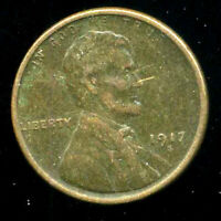 1917 S WHEAT CENT KEY DATE US CIRCULATED ONE LINCOLN  1 CENT U.S COIN 1501