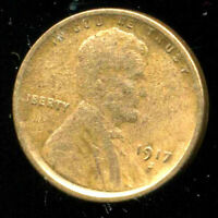 1917 S WHEAT CENT KEY DATE US CIRCULATED ONE LINCOLN  1 CENT U.S COIN 1292