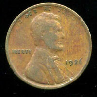1926 P WHEAT CENT KEY DATE US CIRCULATED ONE LINCOLN  1 CENT U.S COIN 995