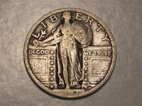 1923 STANDING LIBERTY QUARTER FINE & ATTRACTIVE
