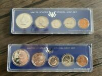 1967 & 1966 SPECIAL MINT SET SMS UNITED STATES UNCIRCULATED