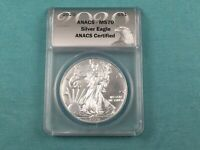 2020 US MINT SILVER UNCIRCULATED AMERICAN EAGLE MS 70