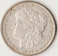 MORGAN 1897 S UNC SILVER DOLLAR