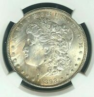 1898-O MORGAN SILVER DOLLAR - GNW - NGC MINT STATE 64 BEAUTIFUL COIN REF95-052