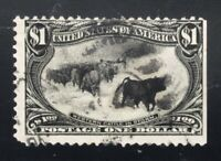 SCOTT 292    THE $1.00 TRANS MISSISSIPPI EXPOSITION ISSUE