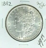 1882 MORGAN SILVER DOLLAR  SL/UNC  LOOKING COIN