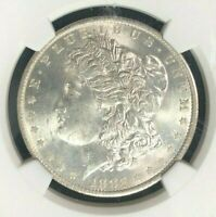 1883 O/O VAM 4 NGC MINT STATE 63 MORGAN SILVER DOLLAR-GENE L.HENRY LEGACY COLLECTION080
