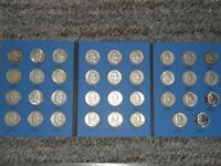 COMPLETE SILVER FRANKLIN HALF DOLLAR COLLECTION SET 1948 PDS