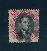 DRBOBSTAMPS US SCOTT 122 USED SOUND STAMP W/PERF PROBLEMS