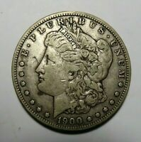 1900 S BETTER DATE MORGAN SILVER DOLLAR,  PROBLEM FREEE COIN