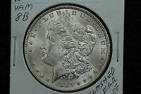 1884 MORGAN DOLLAR VAM-8B CLASHED DIES 08DL