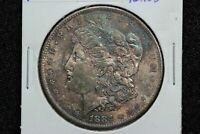1884-O MORGAN DOLLAR TONED 09XT