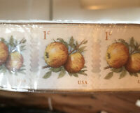SEALED ROLL US 1 CENT APPLES STAMPS 10 000 FRUIT STAMP COLLECTORS COLLECTION