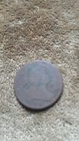 1804 U.S. DRAPED BUST HALF CENT EARLY COPPER TYPE COIN