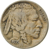 [835682] COIN, UNITED STATES, BUFFALO NICKEL, 5 CENTS, 1935, U.S. MINT