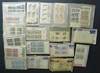 DRBOBSTAMPS US MNH POSTAGE STAMP COLLECTION IN GLASSINES FAC