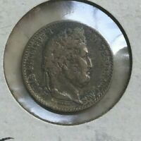 1846 A FRANCE 25 CENTIMES   NICE SILVER