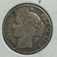 1887 A FRANCE 50 CENTIMES