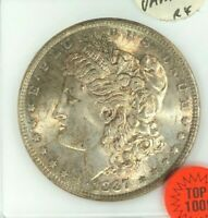 1887 MORGAN SILVER DOLLAR - ANACS MINT STATE 64 VAM 5 DOUBLED DATE