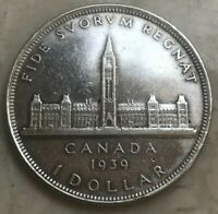 1939 CANADA 1 ONE DOLLAR   CLEANED