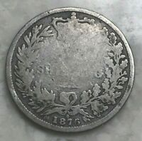 1876 GREAT BRITAIN 1 ONE SHILLING