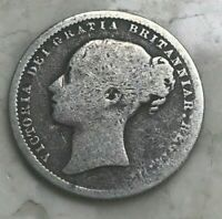 1874 GREAT BRITAIN 1 ONE SHILLING