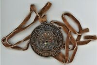 CANADIAN OLYMPICS  1976  MEDAL WITH LEATHER TIES