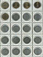 LOT OF 20 PRIME MINISTER TOKENS