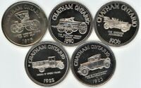 CANADA LOT OF 11 DIFFERENT MUNICIPAL TRADE DOLLARS
