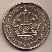 1938 CROWN: HAS HAD LITTLE CIRCULATION: A BEAUTY    NO  RESE
