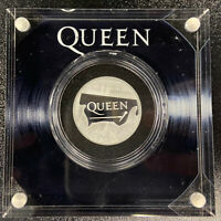 QUEEN:MUSIC LEGENDS HALF OUNCE SILVER PROOF COIN ROYAL MINT
