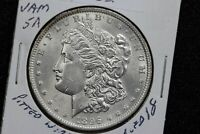 1896 MORGAN DOLLAR VAM-5A DOUBLED 18-6 PITTED WING 19U5