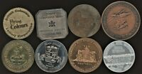 CANADA LOT OF 8 DIFFERENT TOKENS / MEDALS