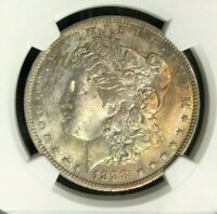 1888-O MORGAN SILVER DOLLAR  NGC MINT STATE 64 WOW BEAUTIFUL COIN REF60-047