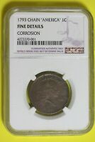 1793   NGC FINE DETAILS CHAIN  CORROSION