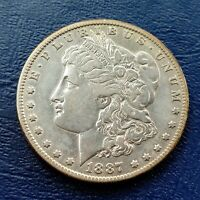 1887 O MORGAN DOLLAR - BEAUTIFUL AU DETAIL - BEST OFFER - MUST SELL - CHRISTMAS