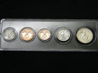 WWII GERMANY COINS SET SILVER WAR EAGLE WITH DISPLAY CASE